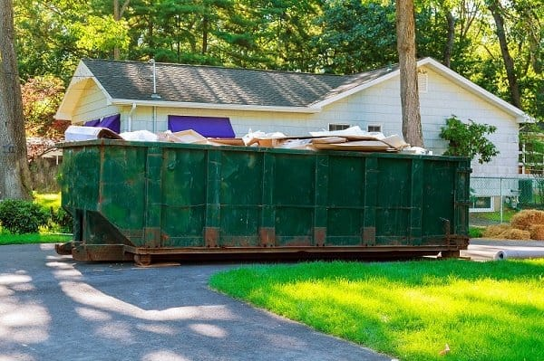 How to Protect my Driveway from a Dumpster