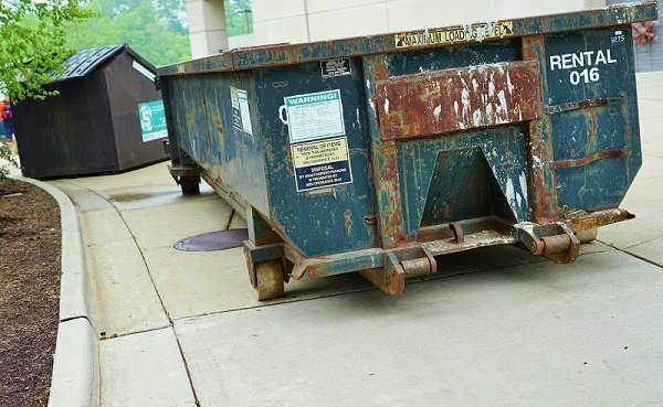 What is the cost of removing waste yourself vs. dumpster rental